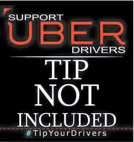 Tip your Uber driver?