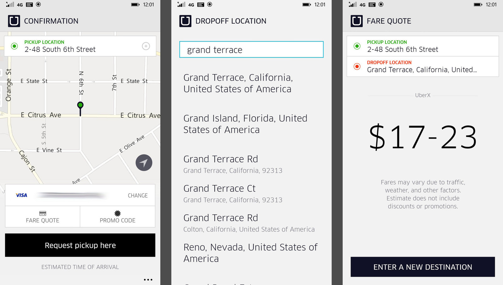Uber Price Quote >> Uber Fare Estimator - Uber Phone Numbers